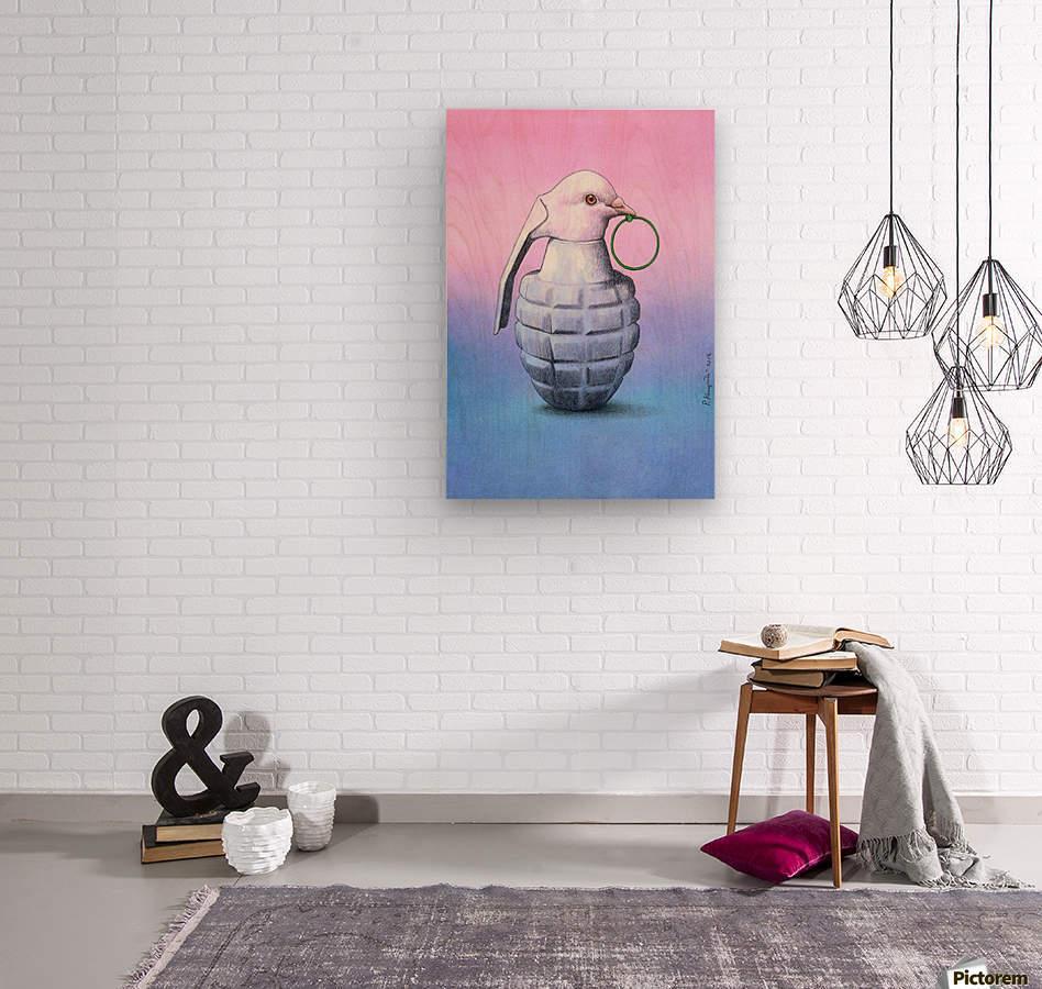 Peace  -  Pawel Kuczynski  Wood print