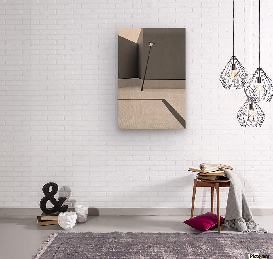 UNSTABLE BALANCE  Wood print