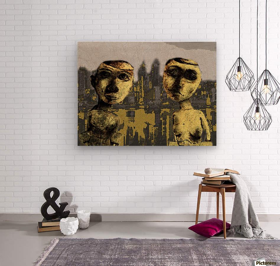 Nueva York  Wood print