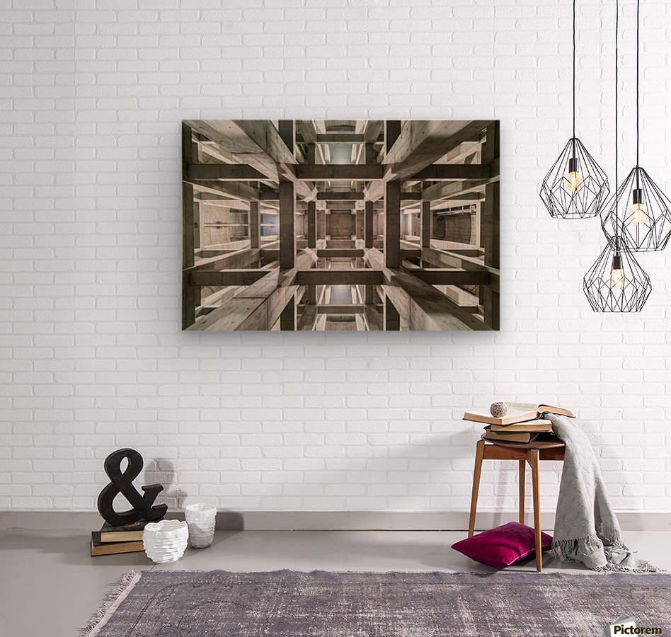 ceiling  Wood print