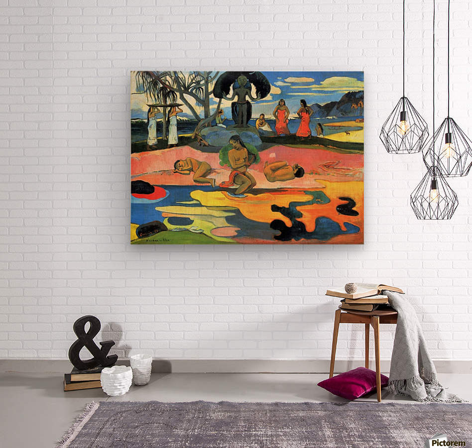 Mohana no Atua by Gauguin  Wood print