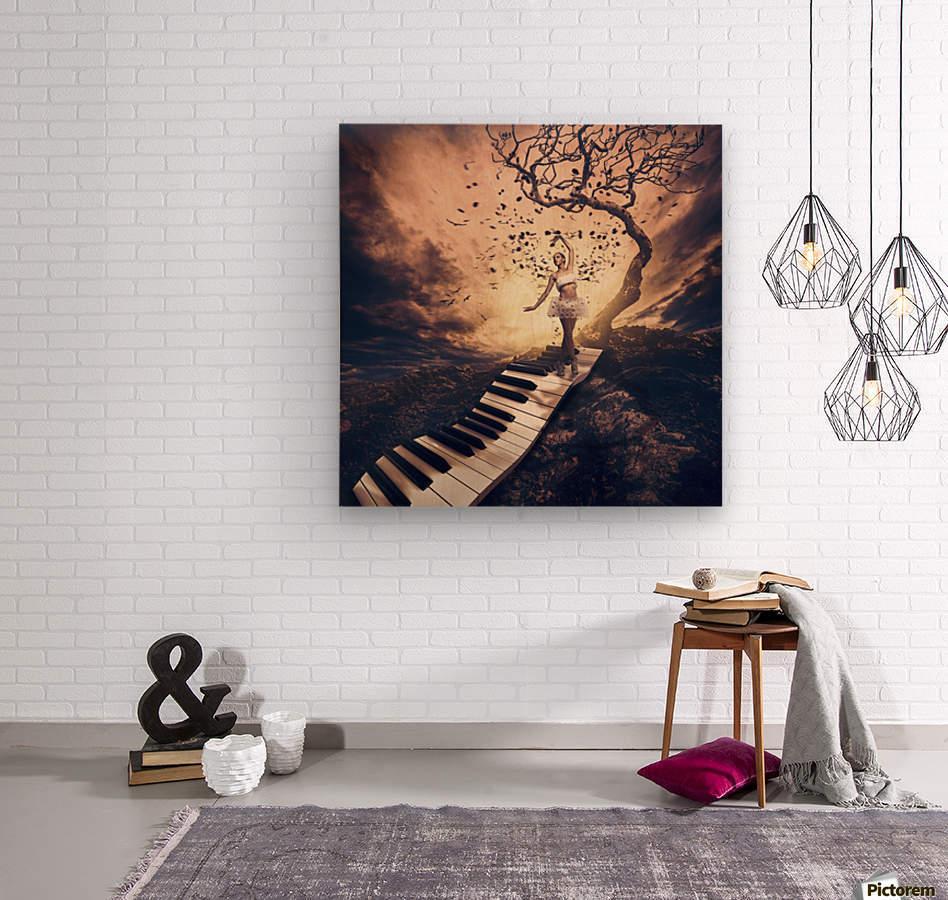 Rhapsody  Wood print