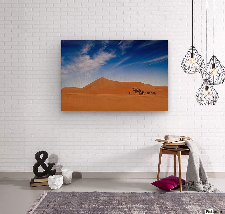 Desert Life ..  Wood print