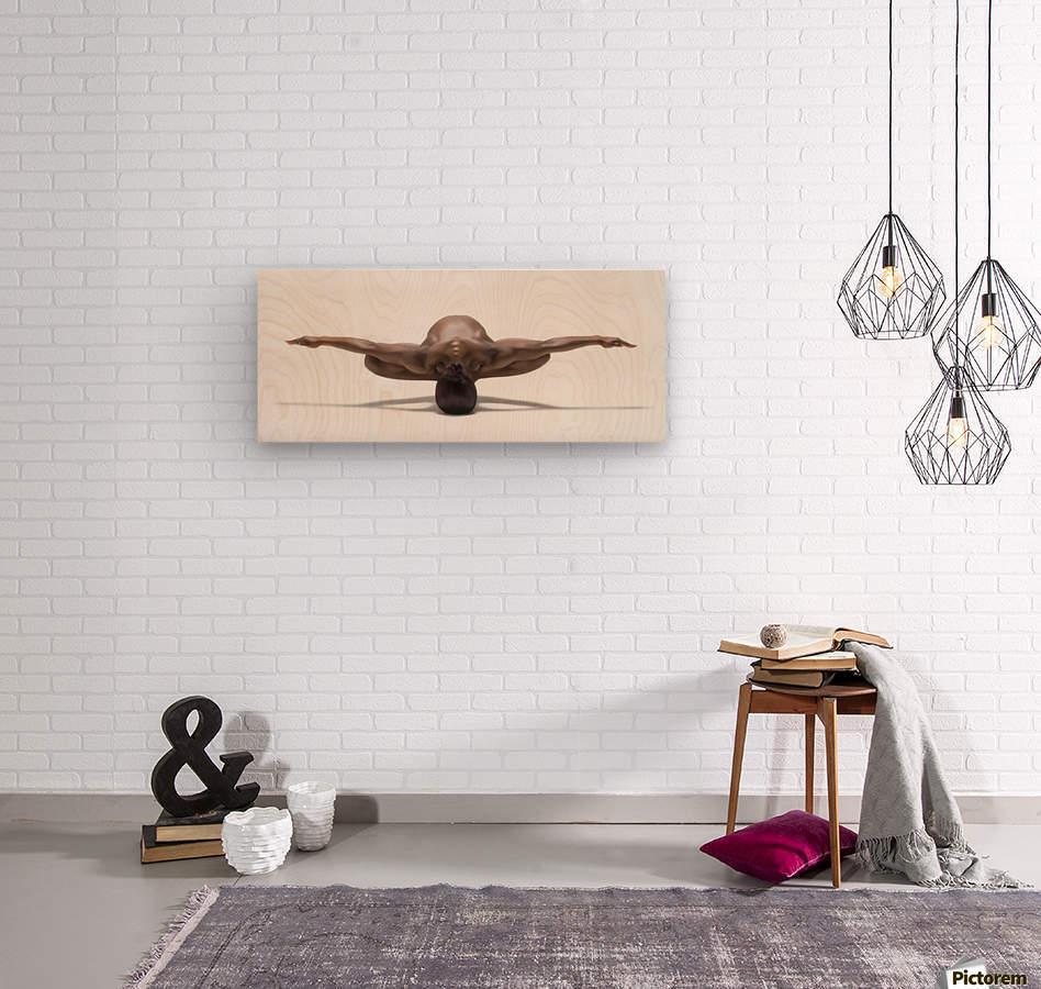 Perfect Balance  Wood print
