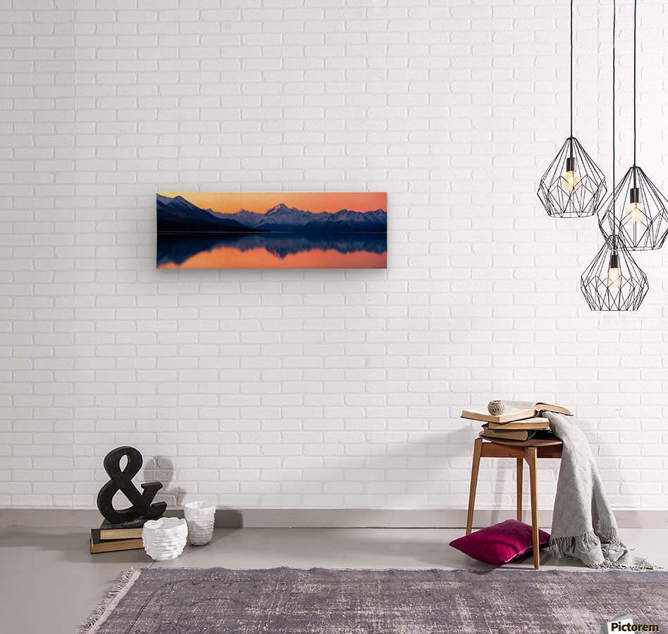 Mount Cook, New Zealand  Wood print