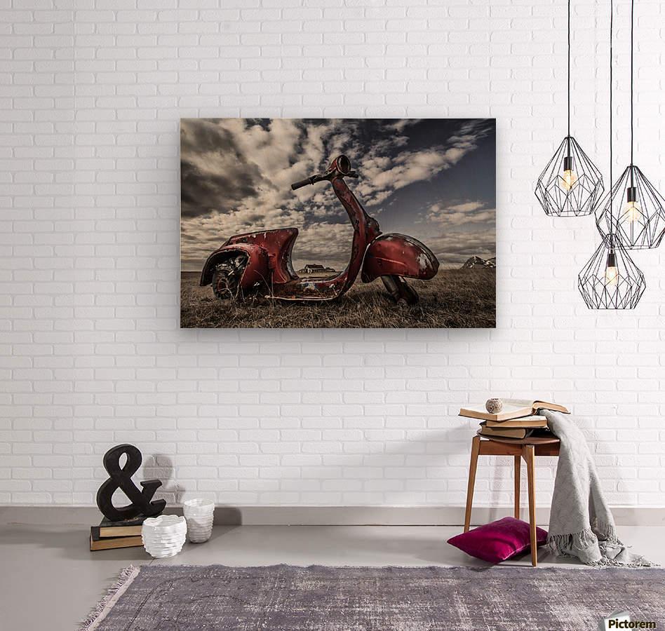 Framed Memories  Impression sur bois