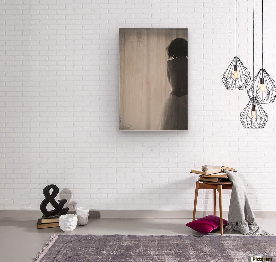 Near Light  Wood print