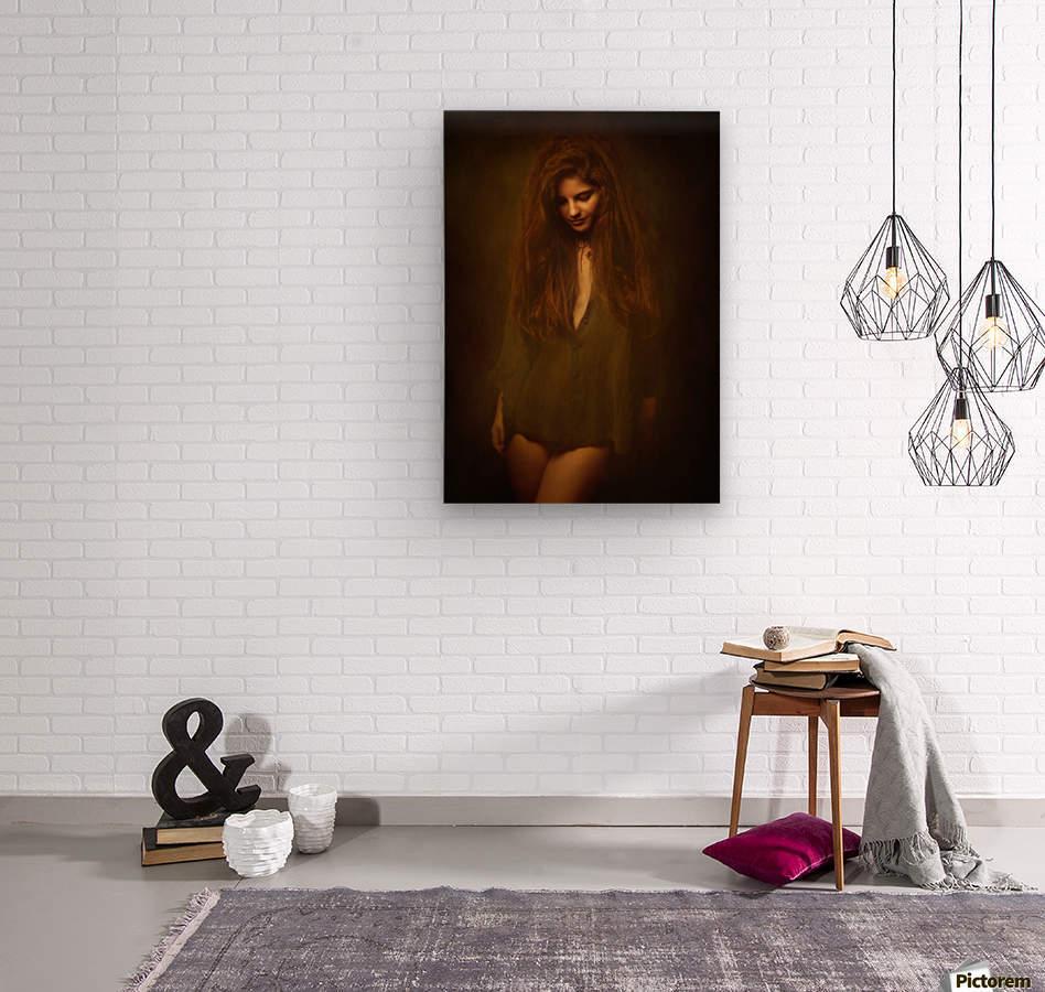 Lia  Wood print
