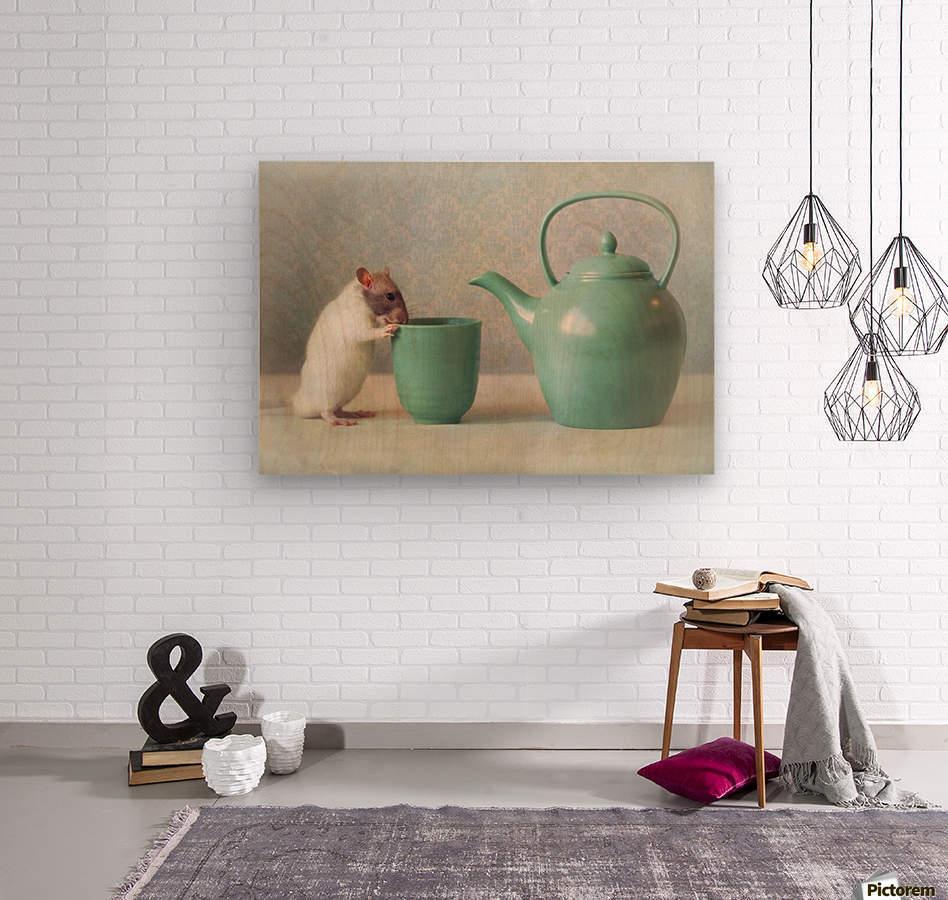 The Teapot  Wood print