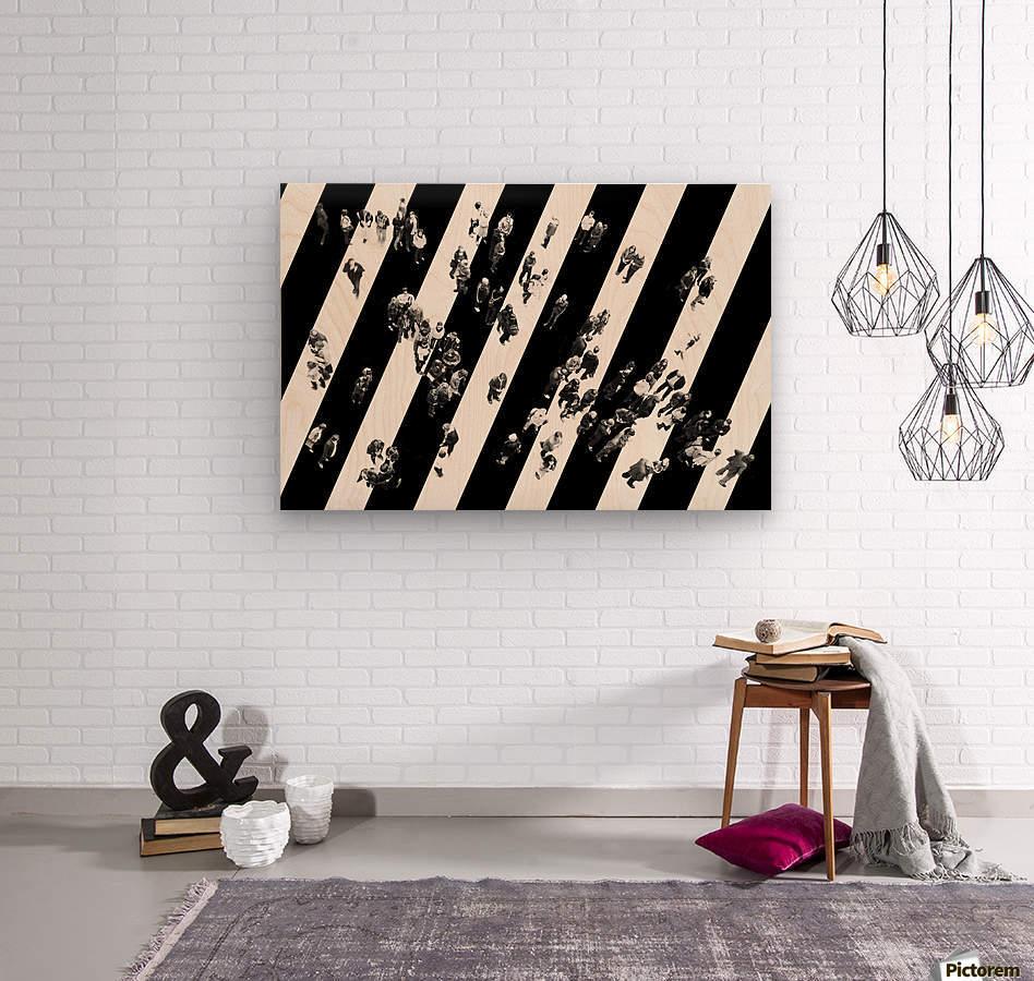 Find me...  Wood print