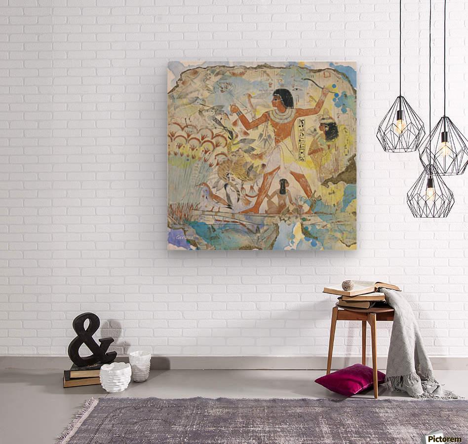 Art191  Impression sur bois