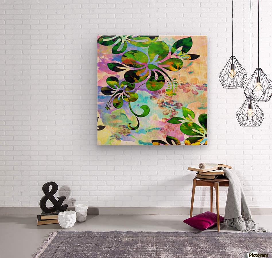 Art206  Impression sur bois