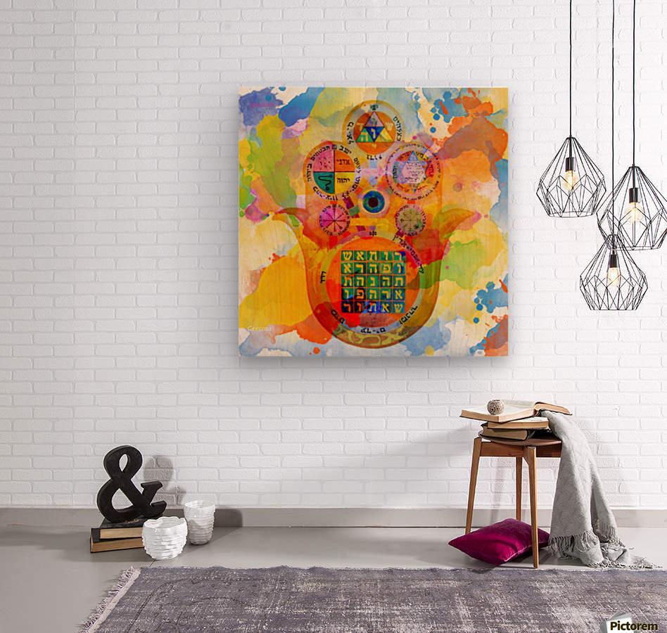 Art227  Wood print