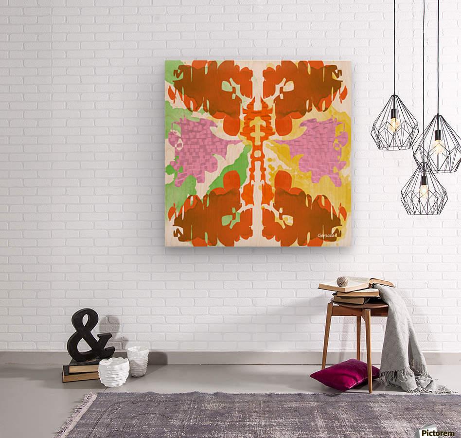 Art230  Impression sur bois