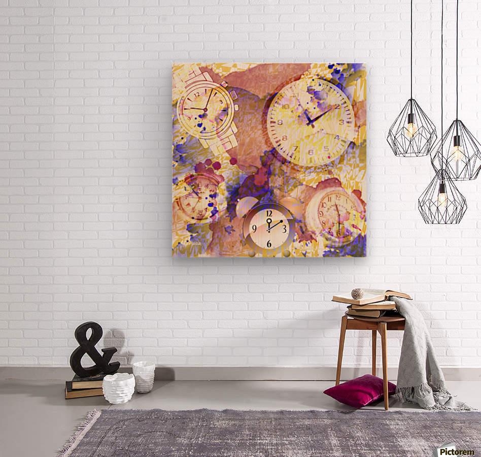 Art231  Impression sur bois