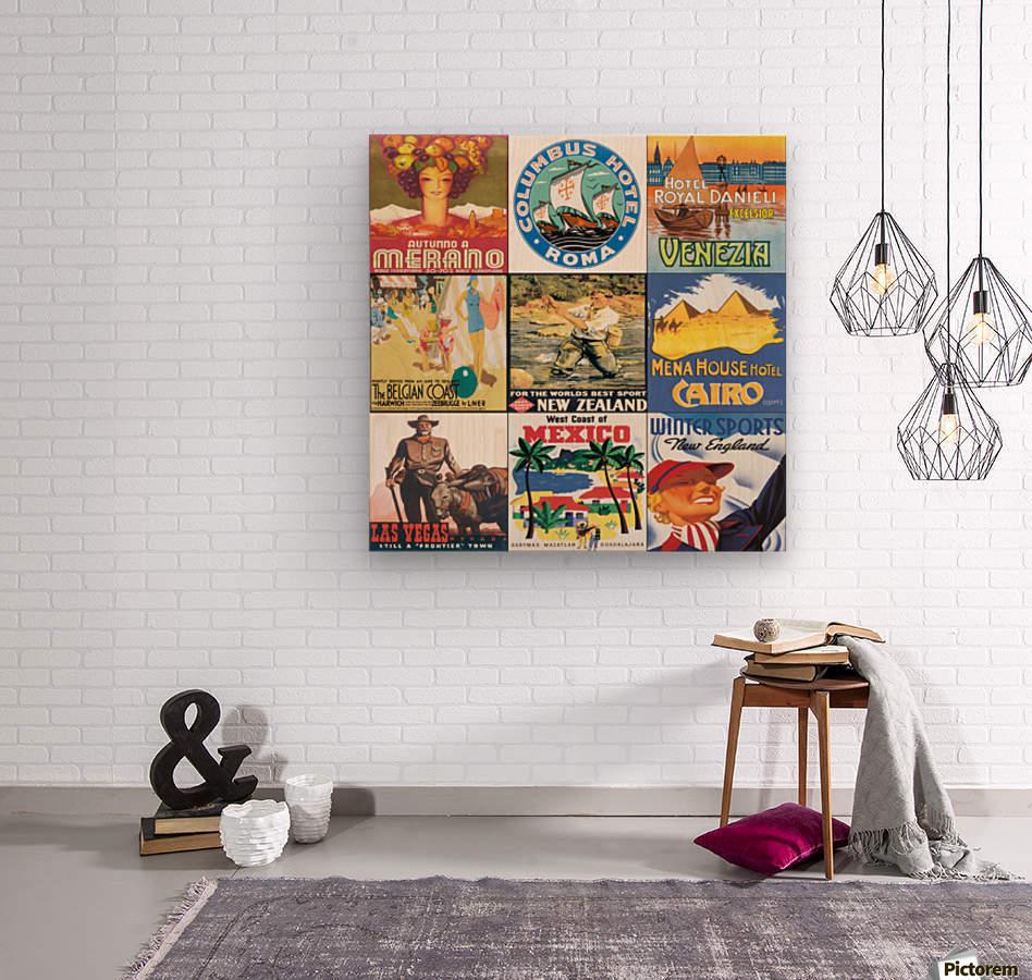 Art243  Wood print