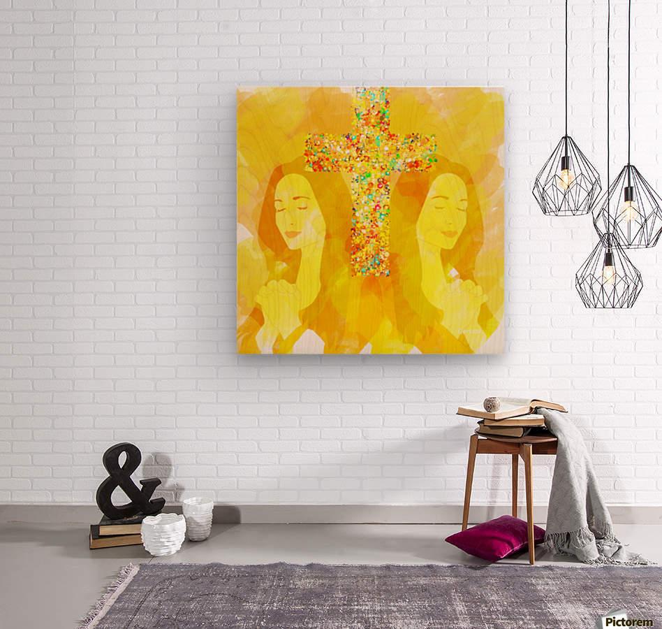 Art232  Wood print