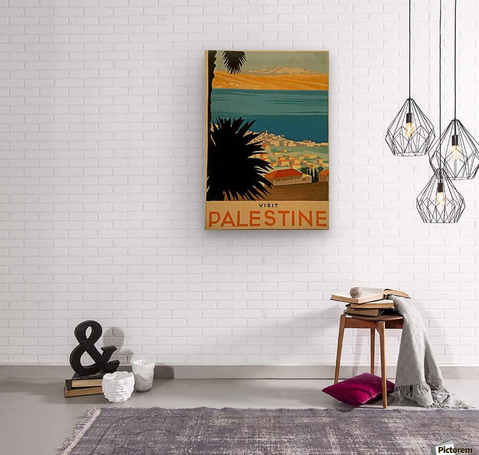 Visit Palestine  Wood print