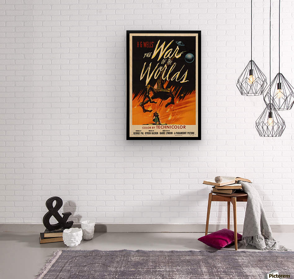The War of the Worlds  Wood print