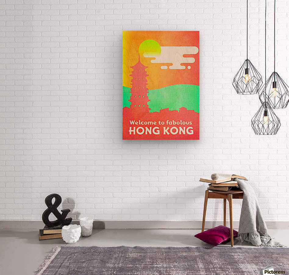 Welcome to Fabolous Hong Kong  Wood print