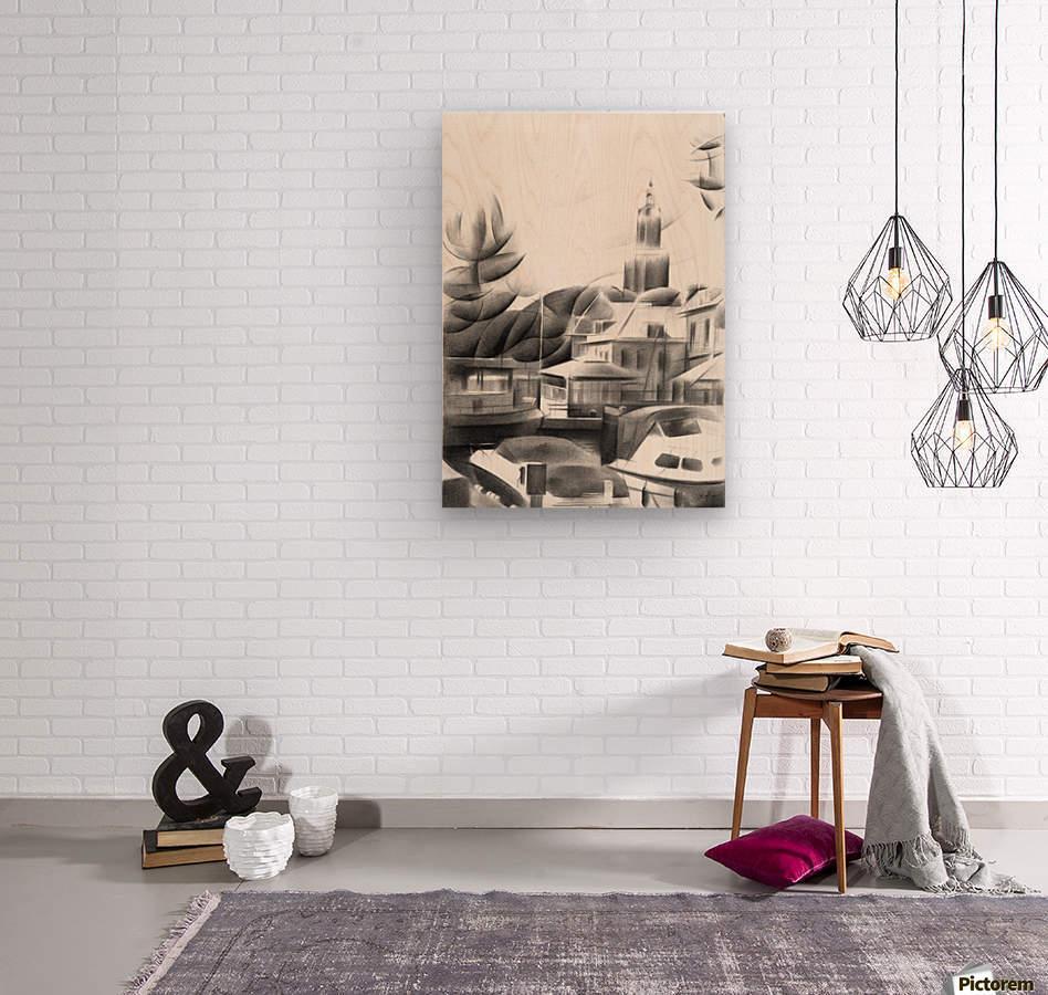 Vlaardingen - 14-09-16  Wood print