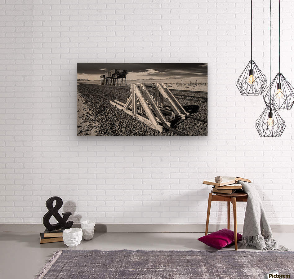 Refuelling Point   Wood print