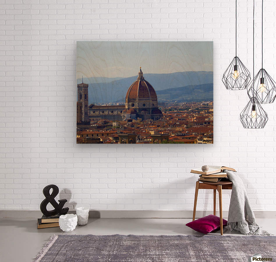 The Magic of Florence  Wood print