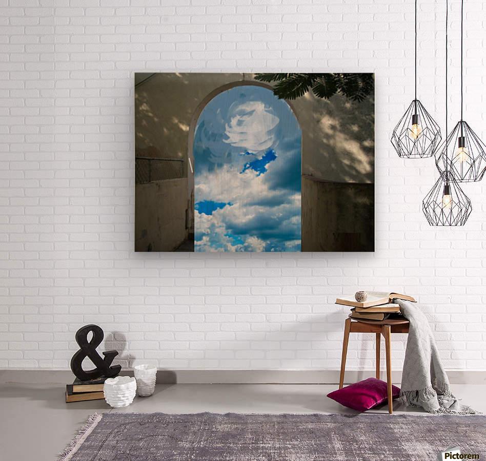 ArtDesign26.com   gate to sky  Wood print