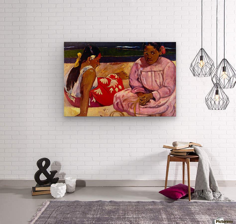 Women of Tahiti by Gauguin  Wood print