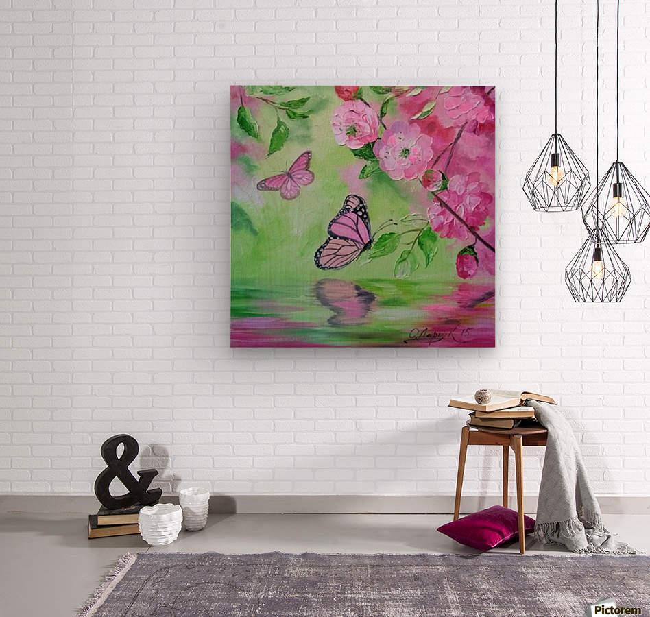 Бабочка    Wood print