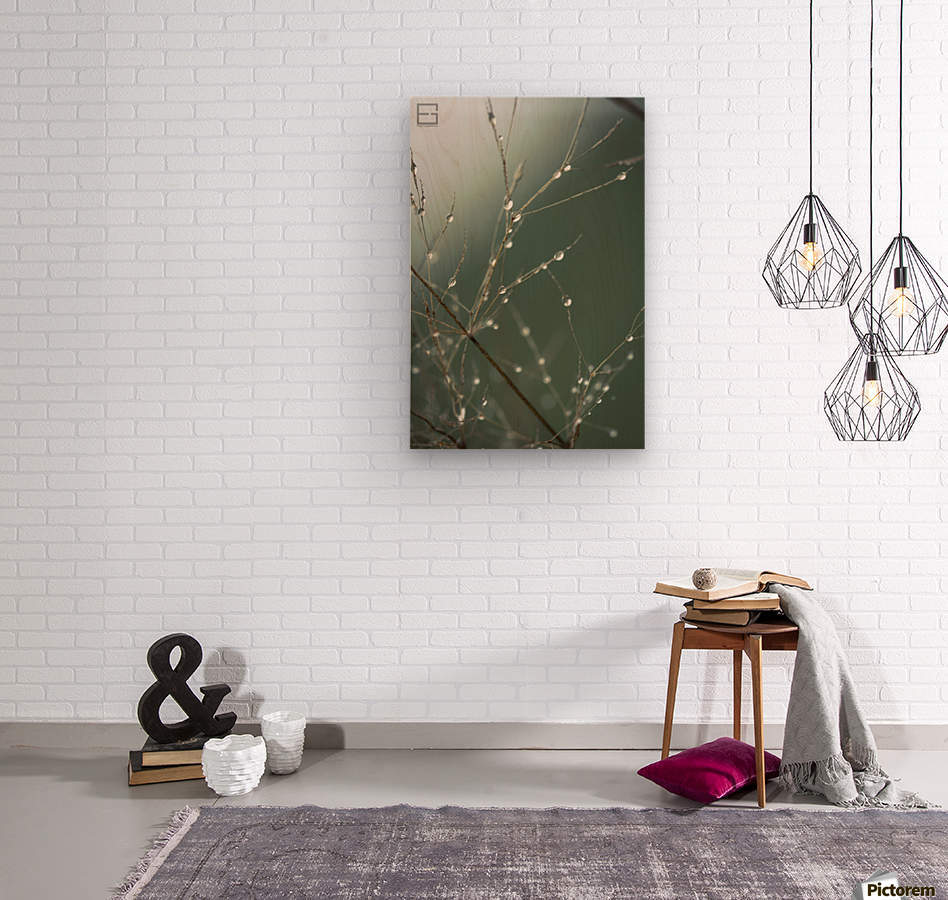 ....  Wood print