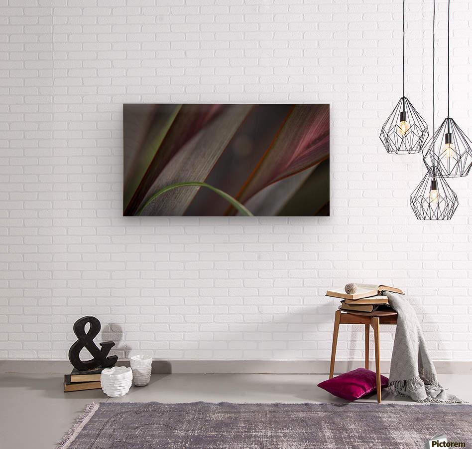 ---  Wood print