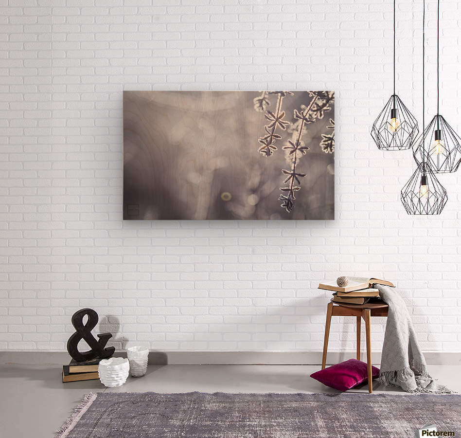 --  Wood print