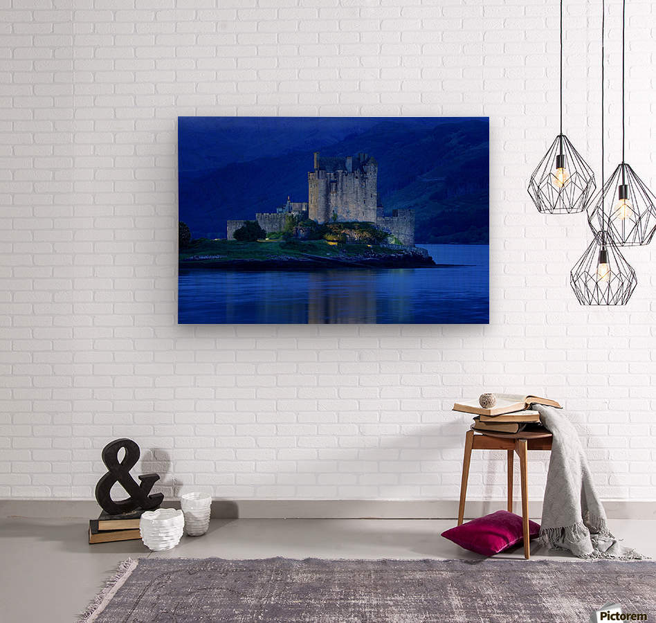 Eilean Donan Castle In Scotland  Wood print
