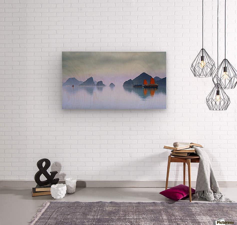 Halong Bay, Vietnam  Wood print