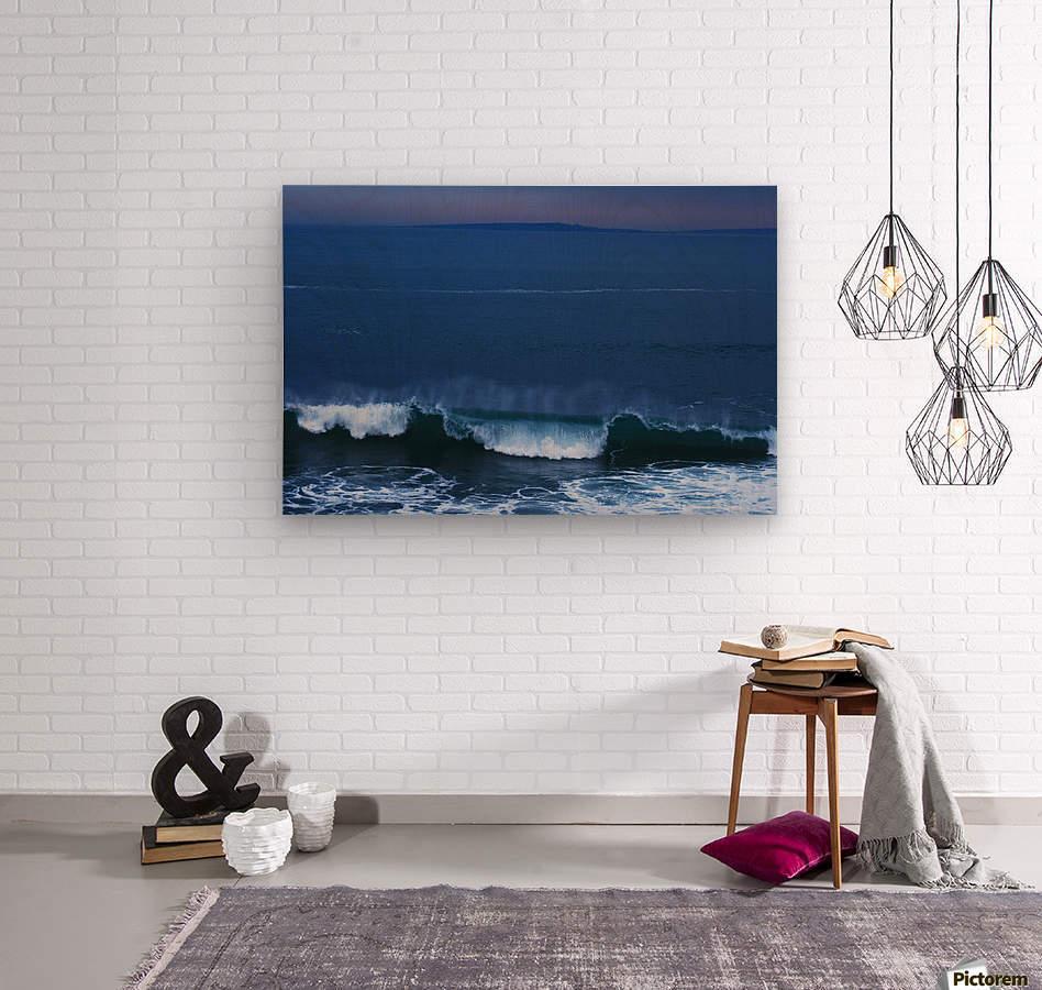 Burren Coast With Inisheer, Ireland  Wood print