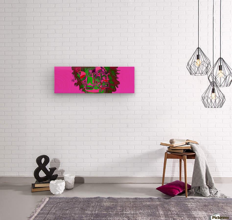 Fascia  Wood print