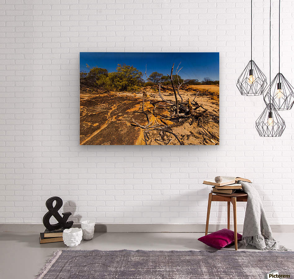 Kalbarri Canyon  Wood print