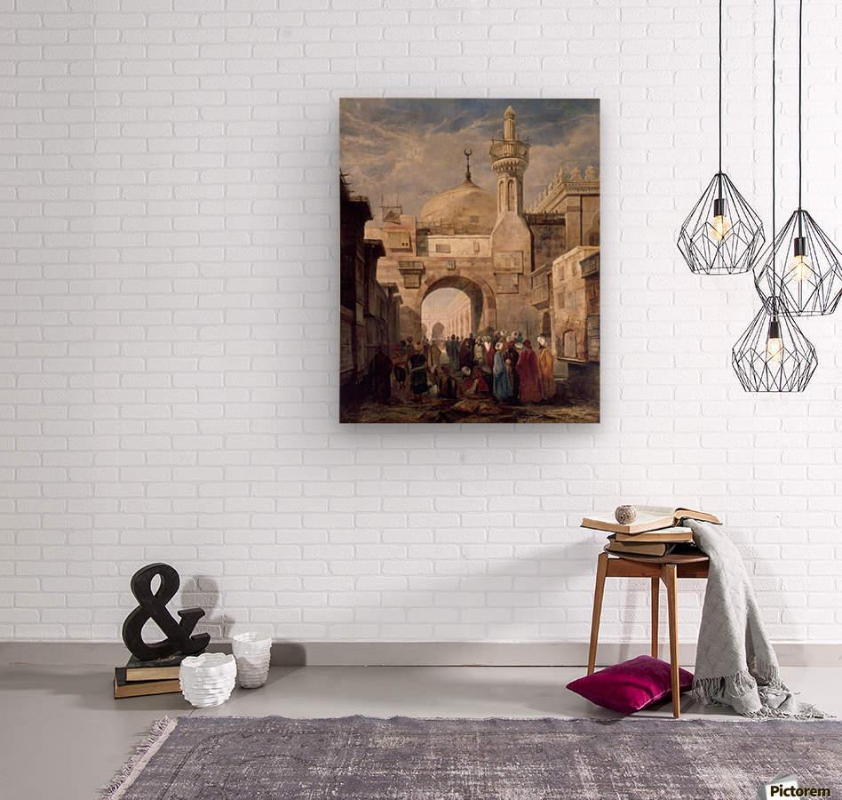 Mosque of Al Azhar in Cairo  Wood print