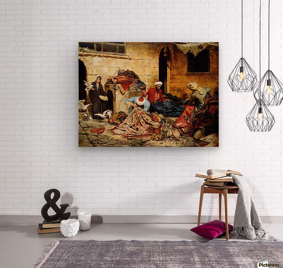Swoboda carpet menders  Wood print