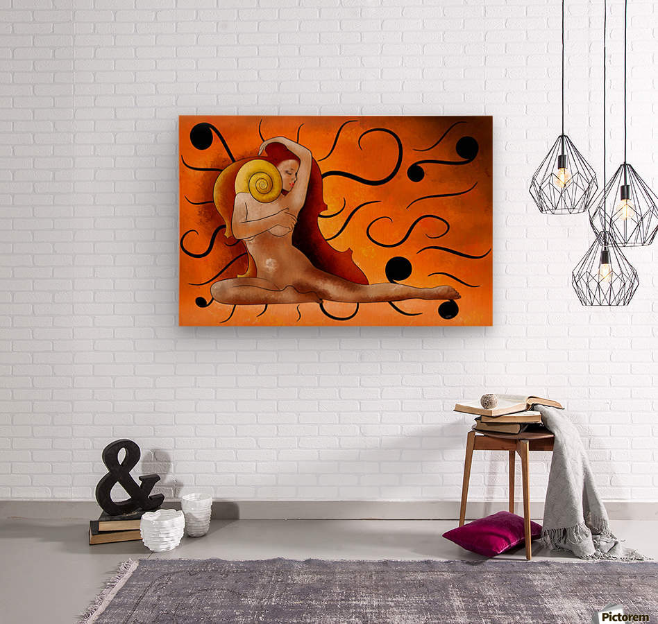 Aspenissia_V1 - violinhair  Wood print