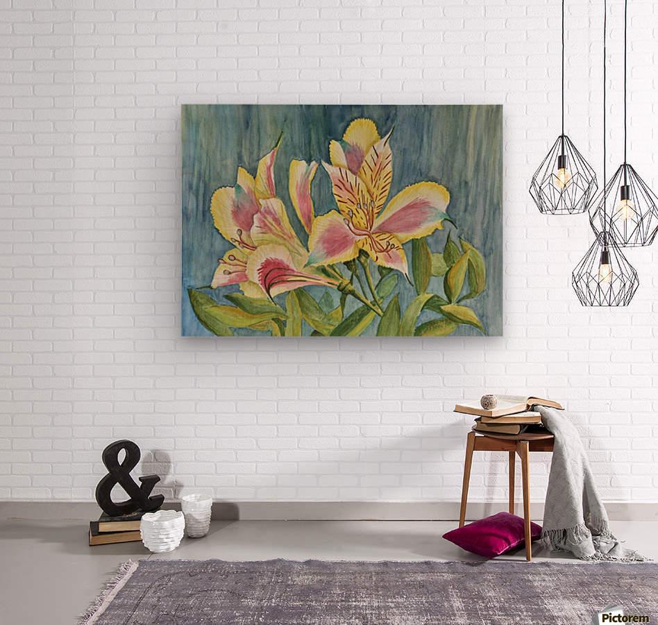 Princess Lily Watercolor Linda Brody Canvas