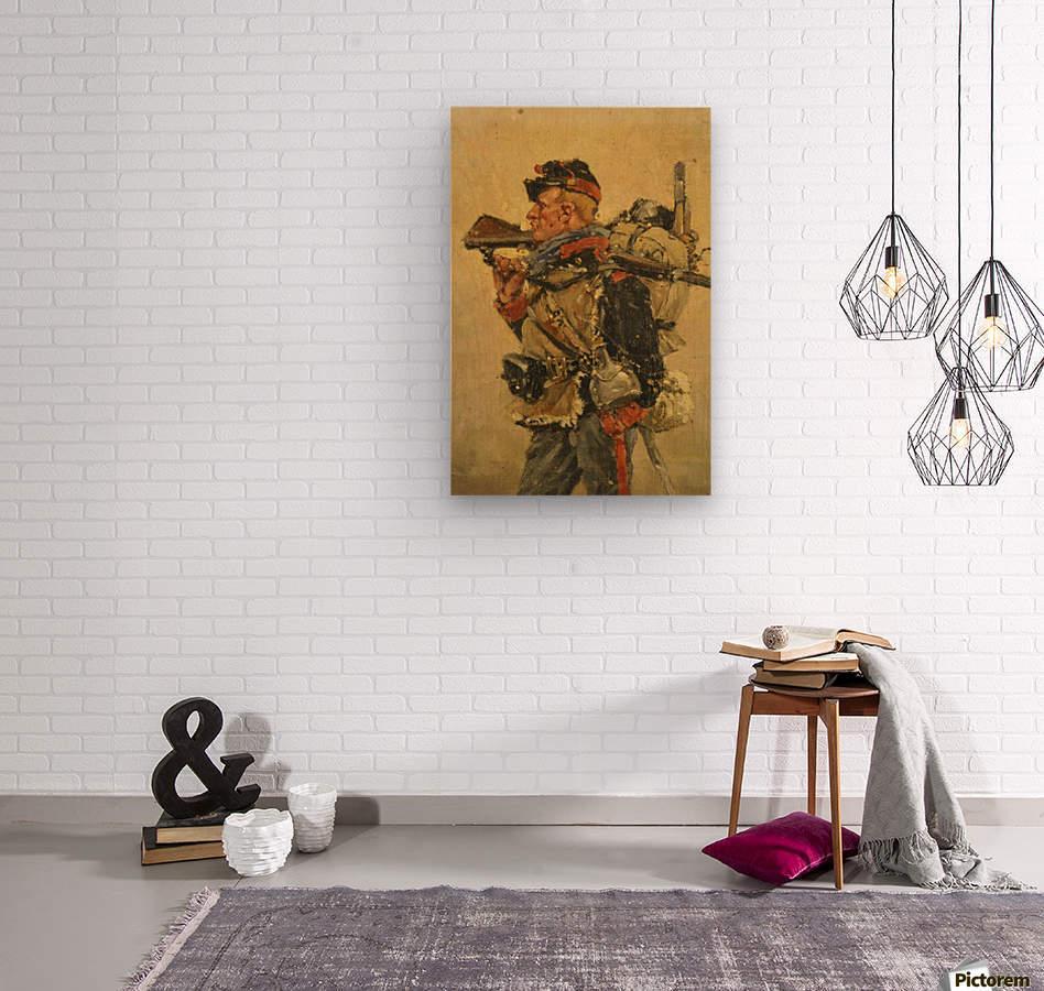 National Guard Franco Prussian War Wood Print