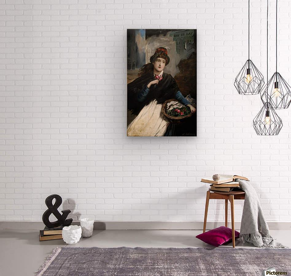 Lady Eleaonor  Impression sur bois