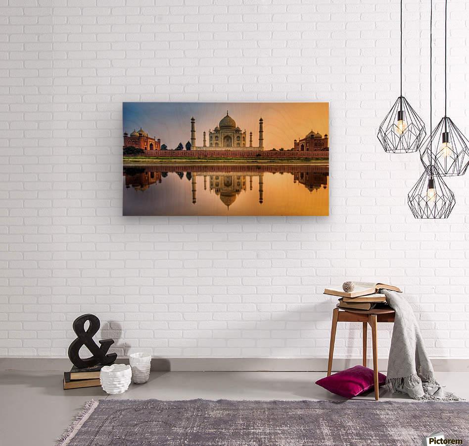 Visit India  Wood print