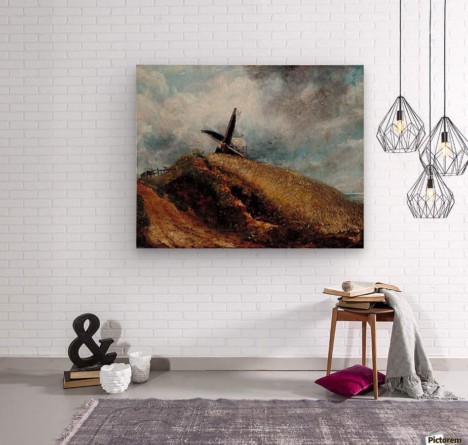 A Windmill near Brighton  Wood print