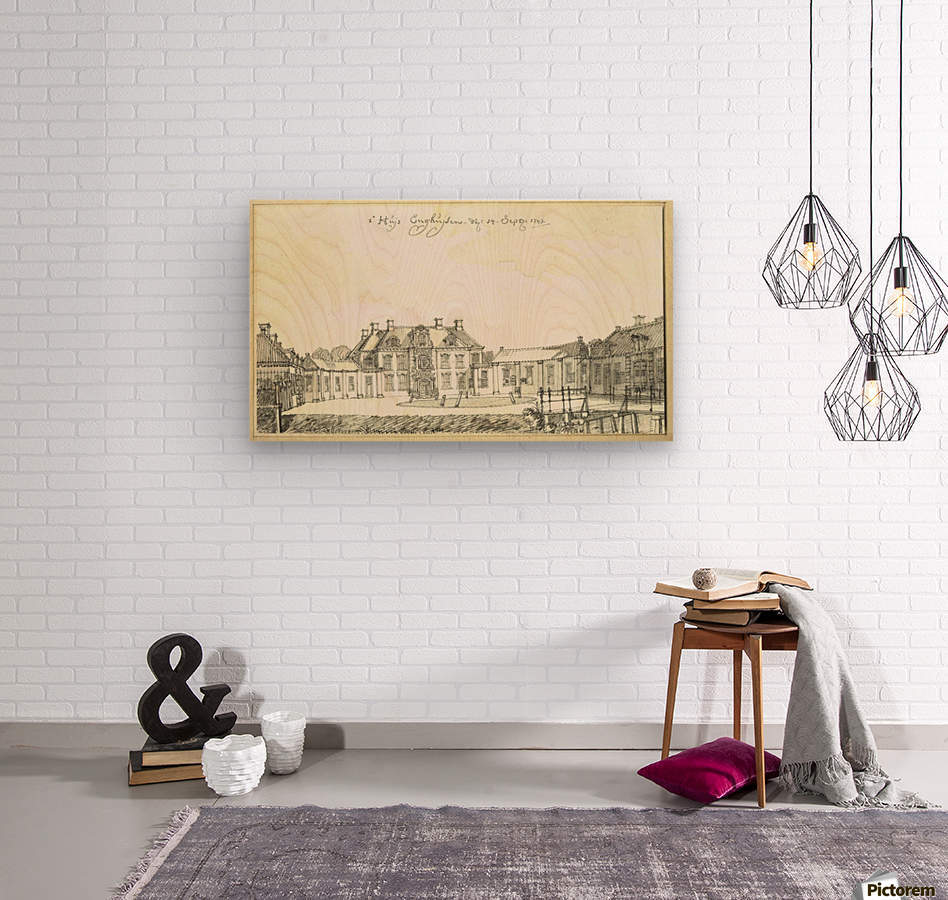 Huis Enghuizen  Wood print