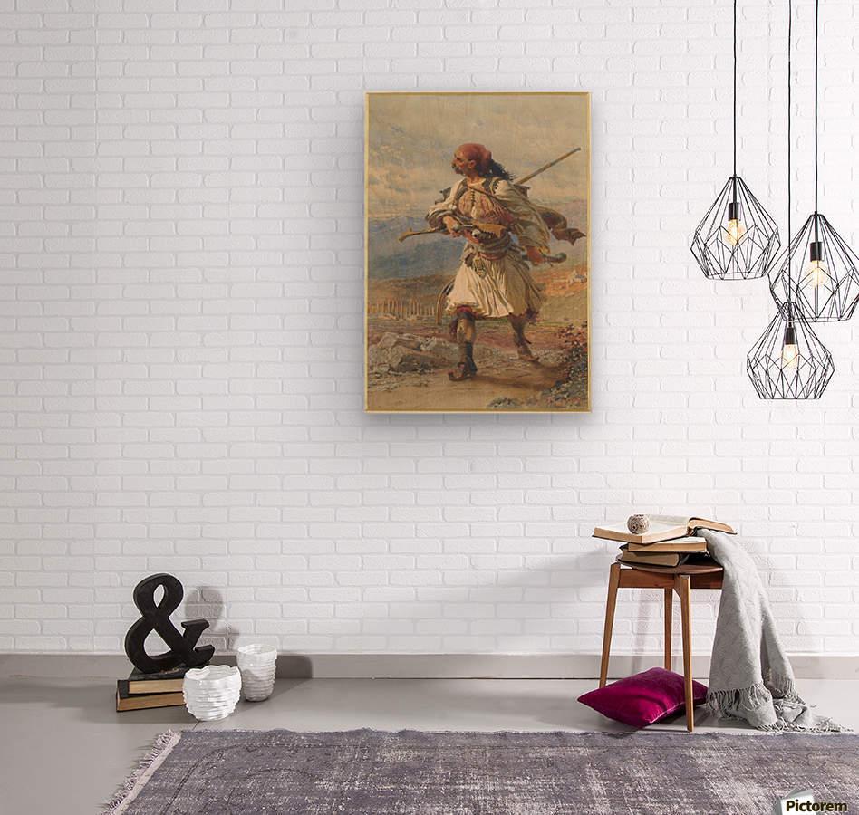 Greek Warrior  Wood print