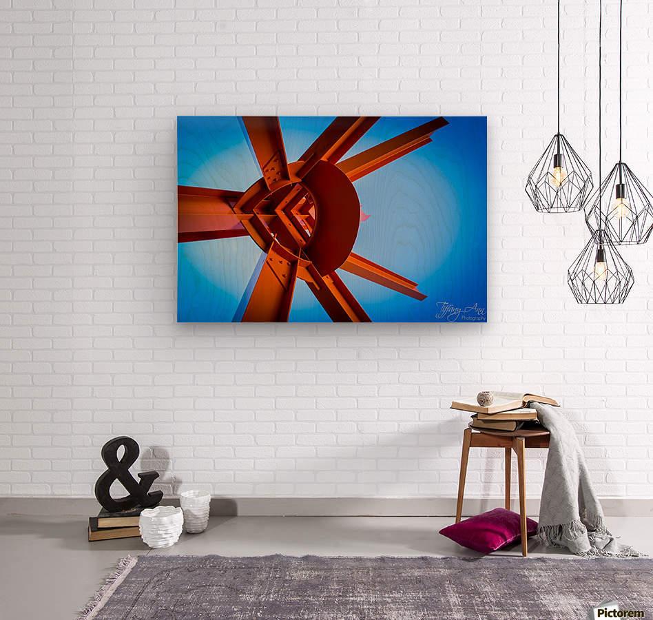 Abstract IV  Wood print