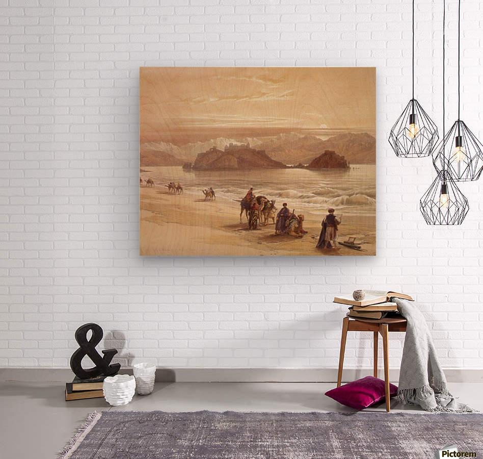 The Island of Graia  Wood print